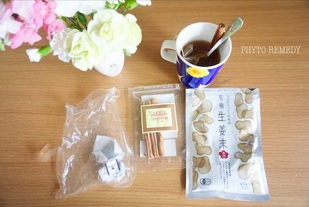 生姜シナモン紅茶