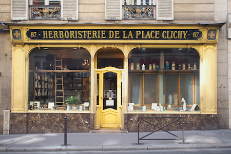 パリのエルボリステリア